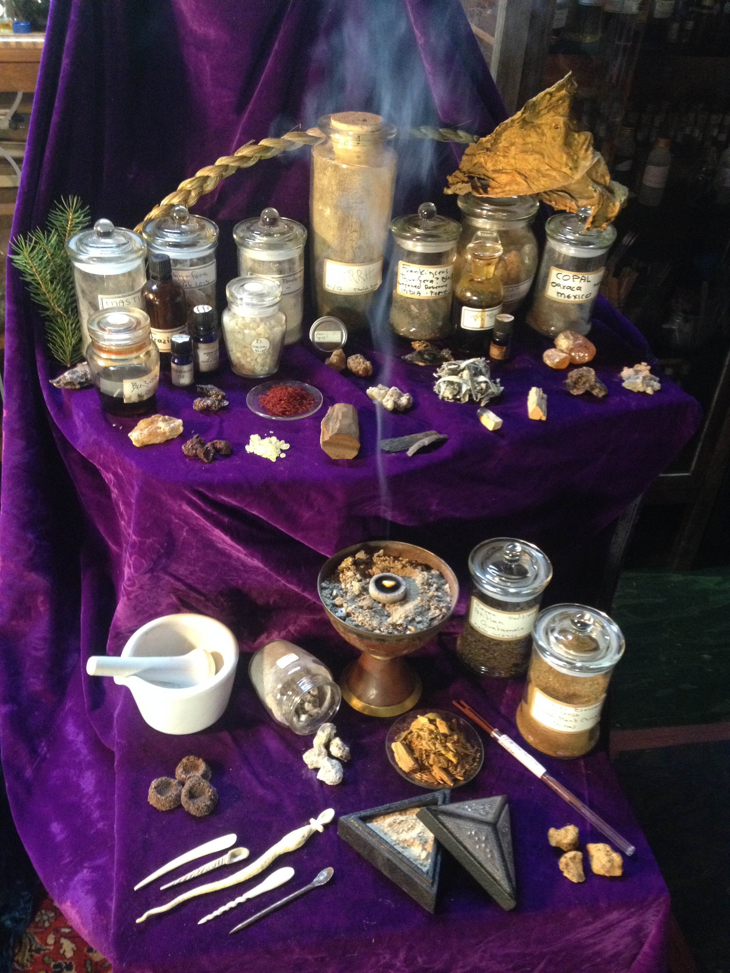 Instructions For Making Natural Incense Powders Pastilles And Cones Apothecary S Garden